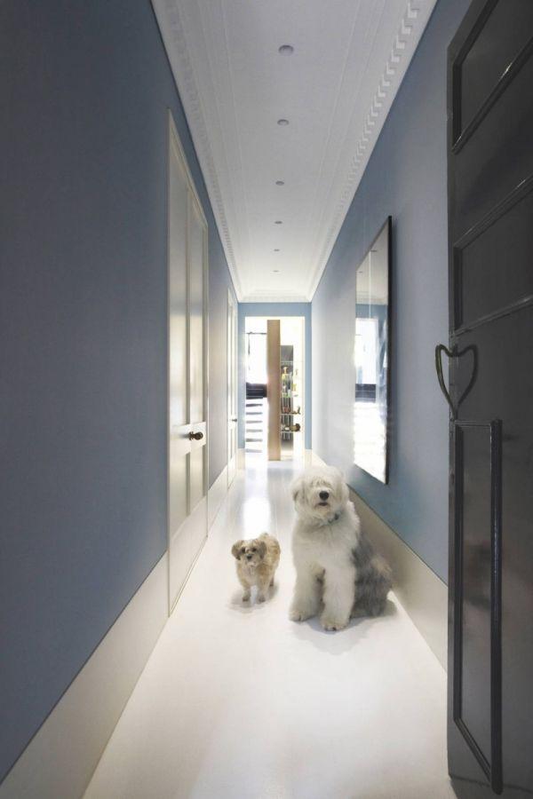 Hausflur Design umgebautes reihenhaus in sydney alt und modern hausflur