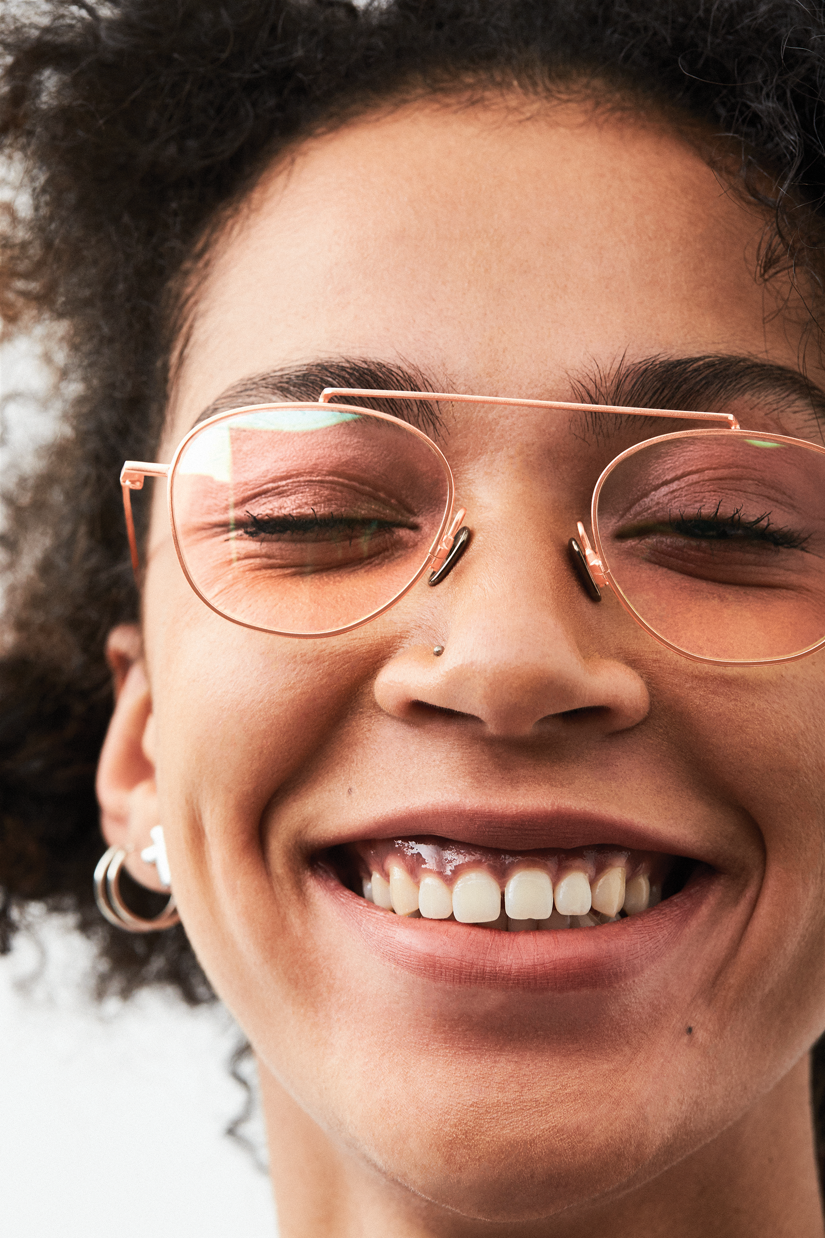 Something to  smile about with Sheldon Rose Gold  komono  opticals   prescriptionglasses ab55914a172