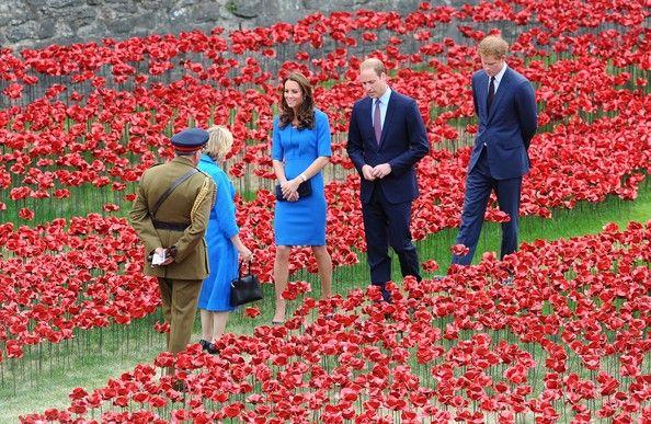 Kate Middleton Photos - British Royals Visit the Tower of London — Part 2 - Zimbio