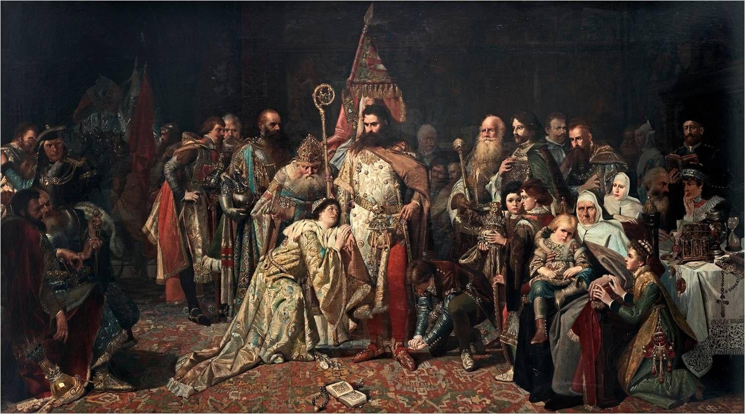 Václav Brožík, Otakarovo loučení