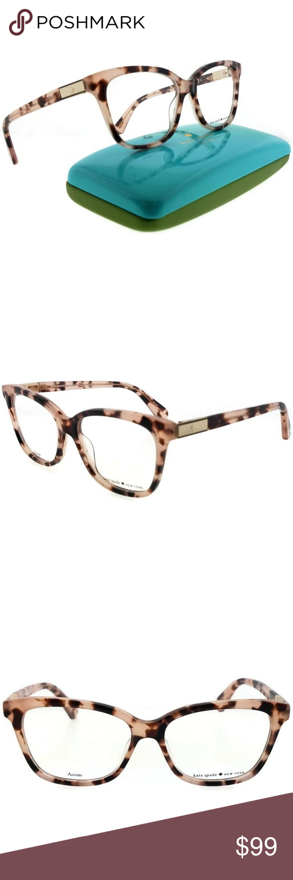 2829436d516d JORJA-0HT8-53 Kate Spade Eyeglasses Kate Spade JORJA-0HT8-53 square ...