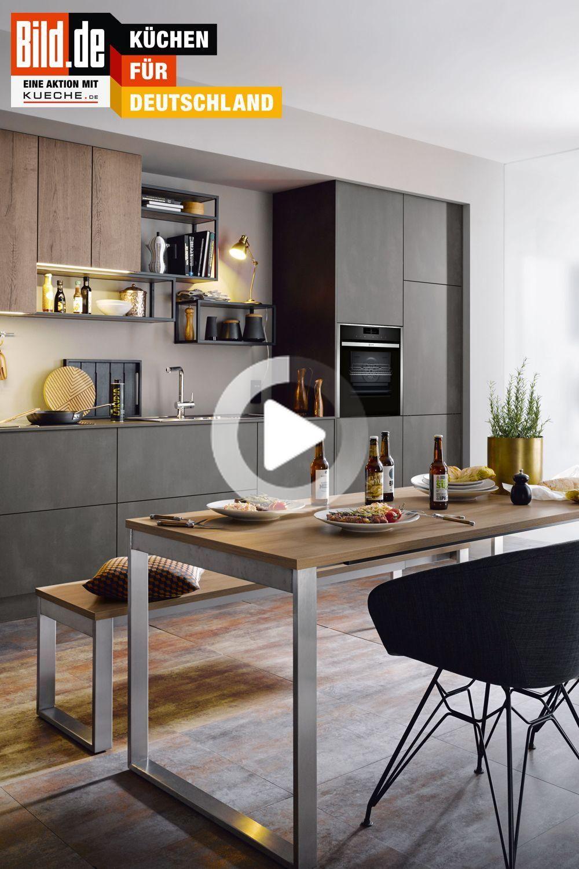 Industrie Charme Fur Die Kuche In 2020 Kuchen Design Kuchendesign Offenes Regal