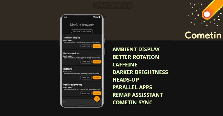 Cometin Enjoy Best Android Tweaks And Mods Without Root Droidviews Best Android Android Android Apps