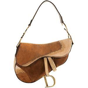 a111776d4f5b Limited Edition Calf Hair   Suede Saddle Handbag