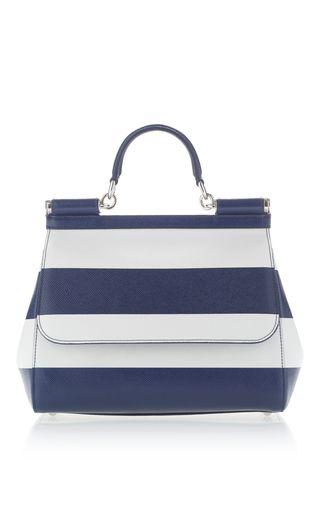 7dad7379192 Dauphine Striped Shoulder Bag by Dolce   Gabbana   Moda Operandi ...
