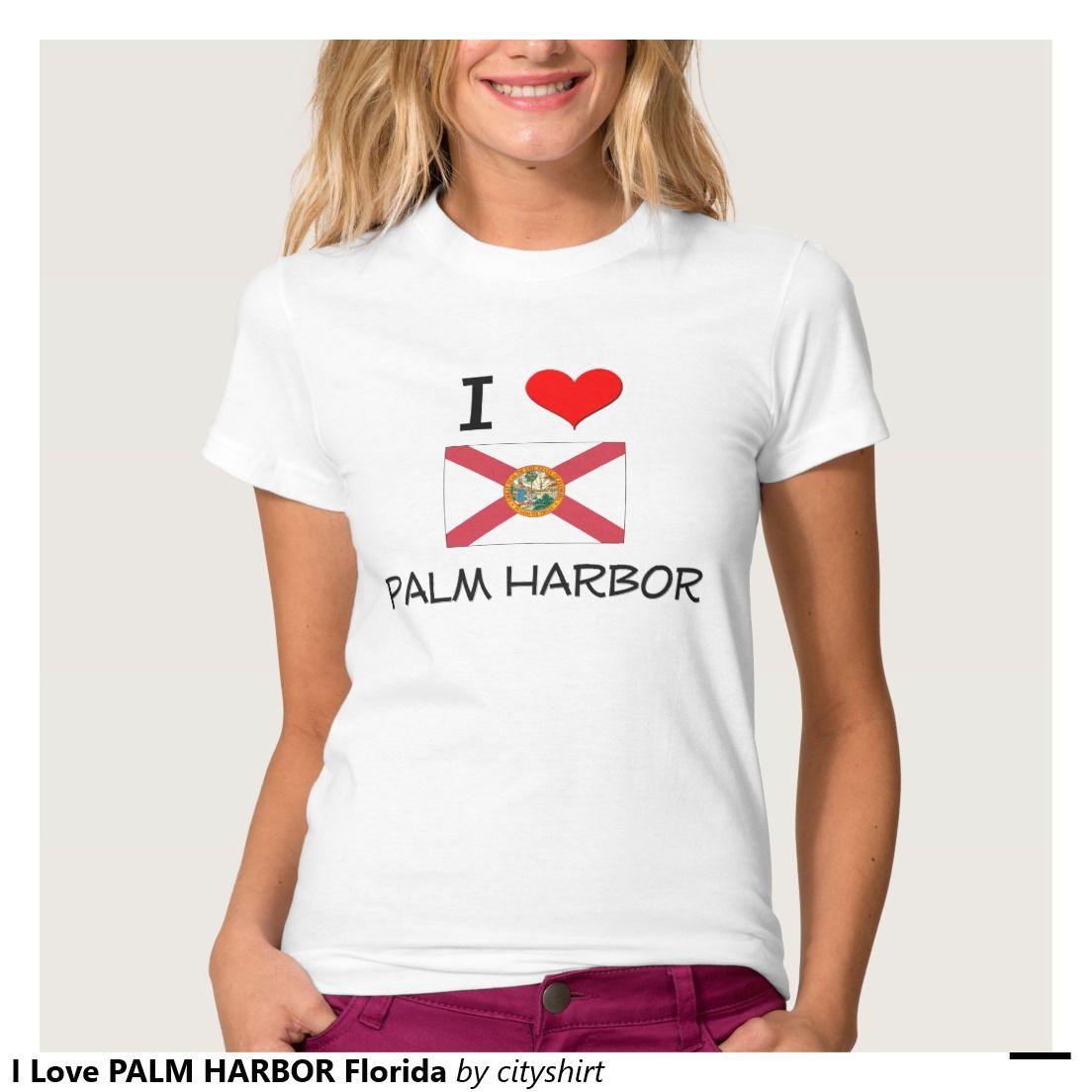 I Love PALM HARBOR Florida T-shirts