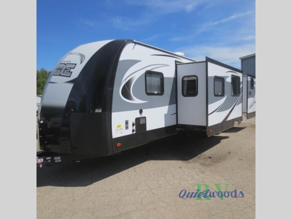 New 2018 Forest River Rv Vibe 323qbs Travel Trailer At Quietwoods