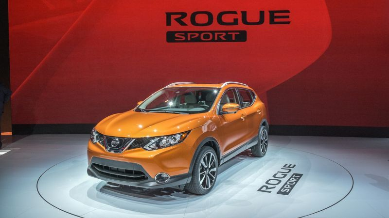 The 2020 Nissan Rogue Sport Sv With Front Wheel Drive System Will