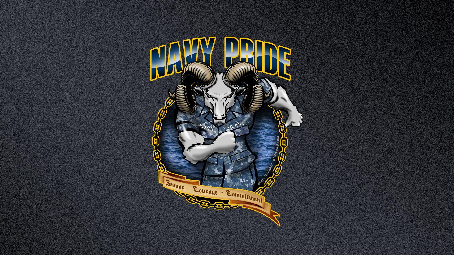 Navy Pride..HooYah!!! Navy wallpaper, Navy seal
