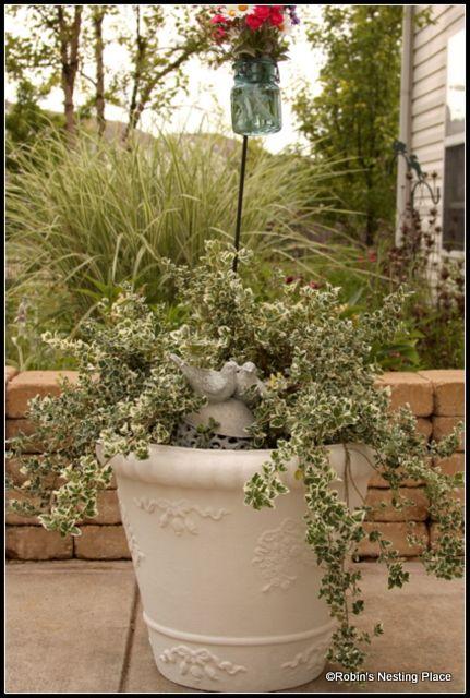 Earthenware Garden Pots