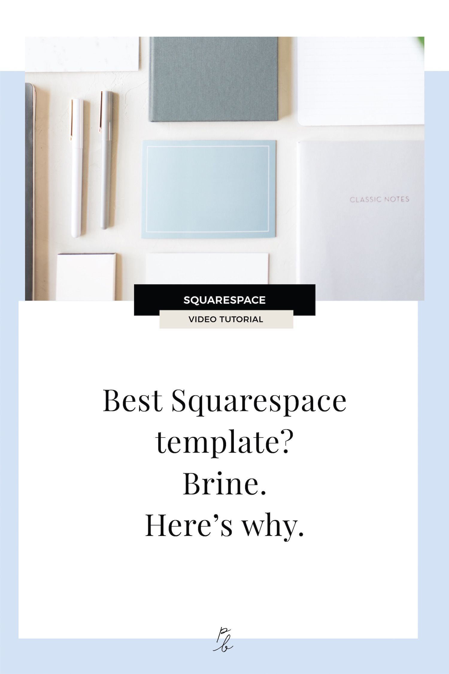 Best Squarespace Template For Blog | What Is The Best Squarespace Template Brine Here S Why