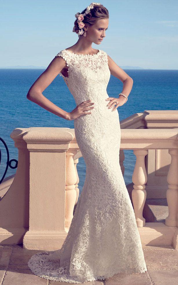 Casablanca Bridal Spring 2015 | Vestido bordado, Vestidos de novia y ...