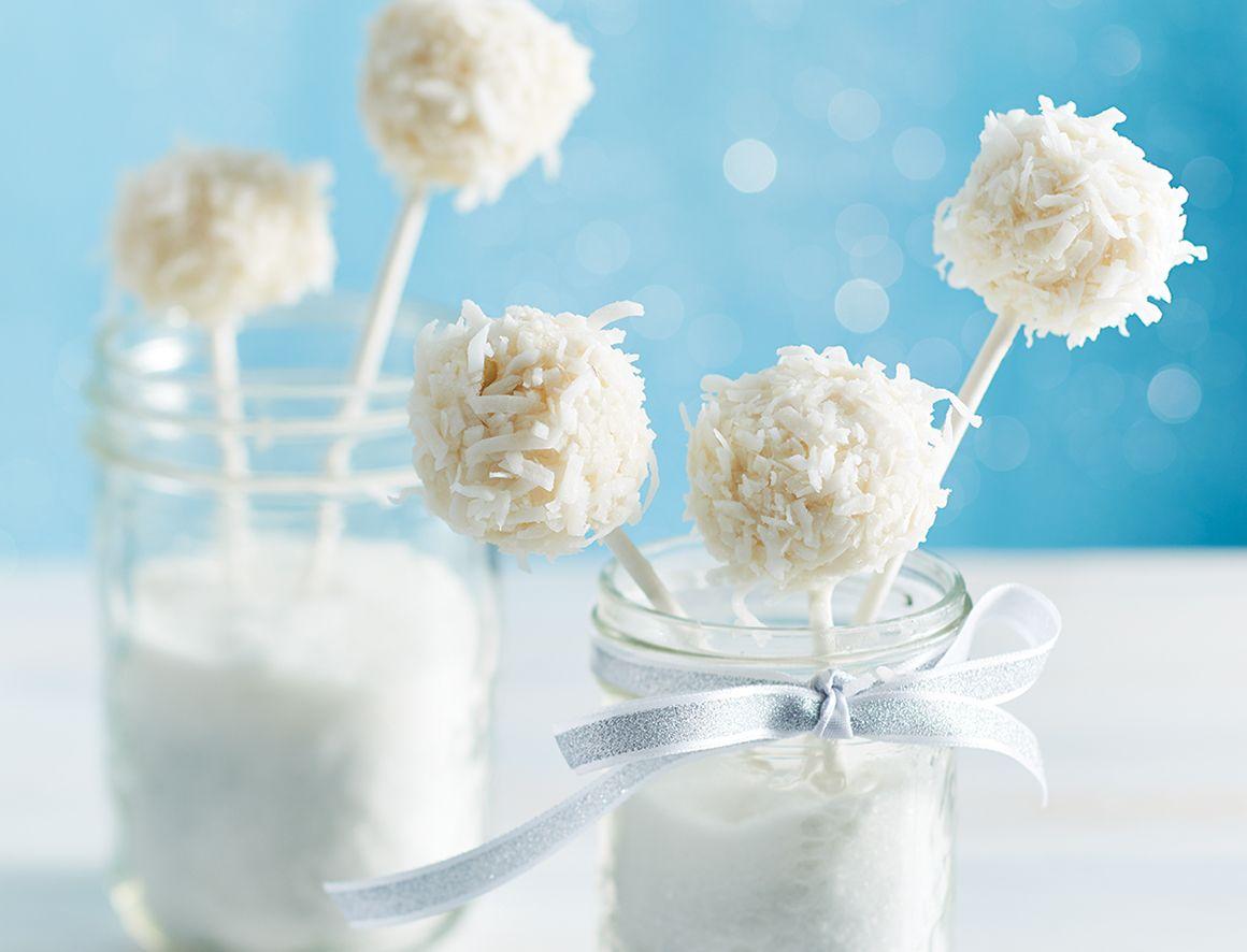 Gluten-free coconut cake pops | christmas | Pinterest | Gluten free ...
