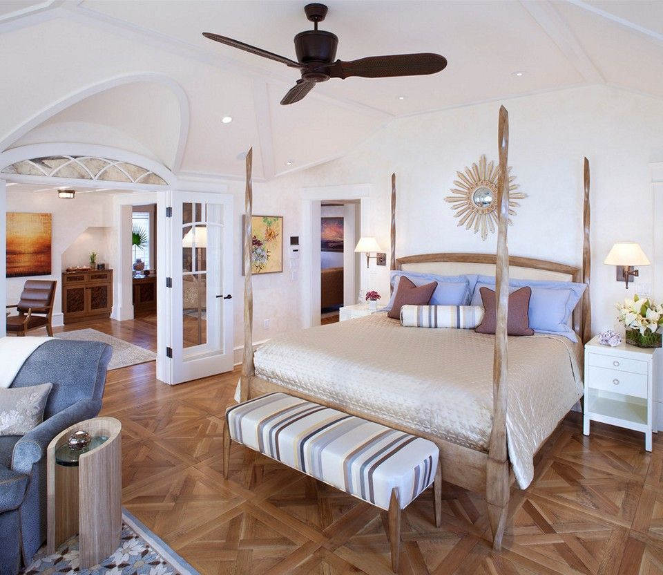 Beach Themed Bedroom for Better Sleeping Quality   Bodengestaltung, Wohnen, Coole schlafzimmer ideen
