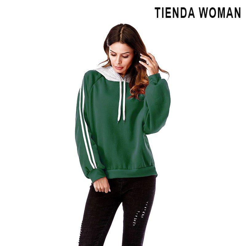 New Womens Ladies Casual Hooded Velvet Sweater Hoodie Jumper Pullover Sweatshirt