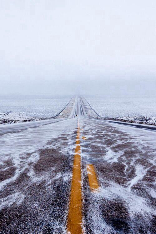 pinterest.com/fra411 #road - helada carretera