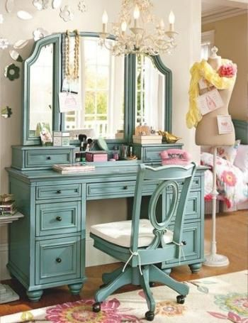50 Ideas makeup vanity diy ideas wall colors images