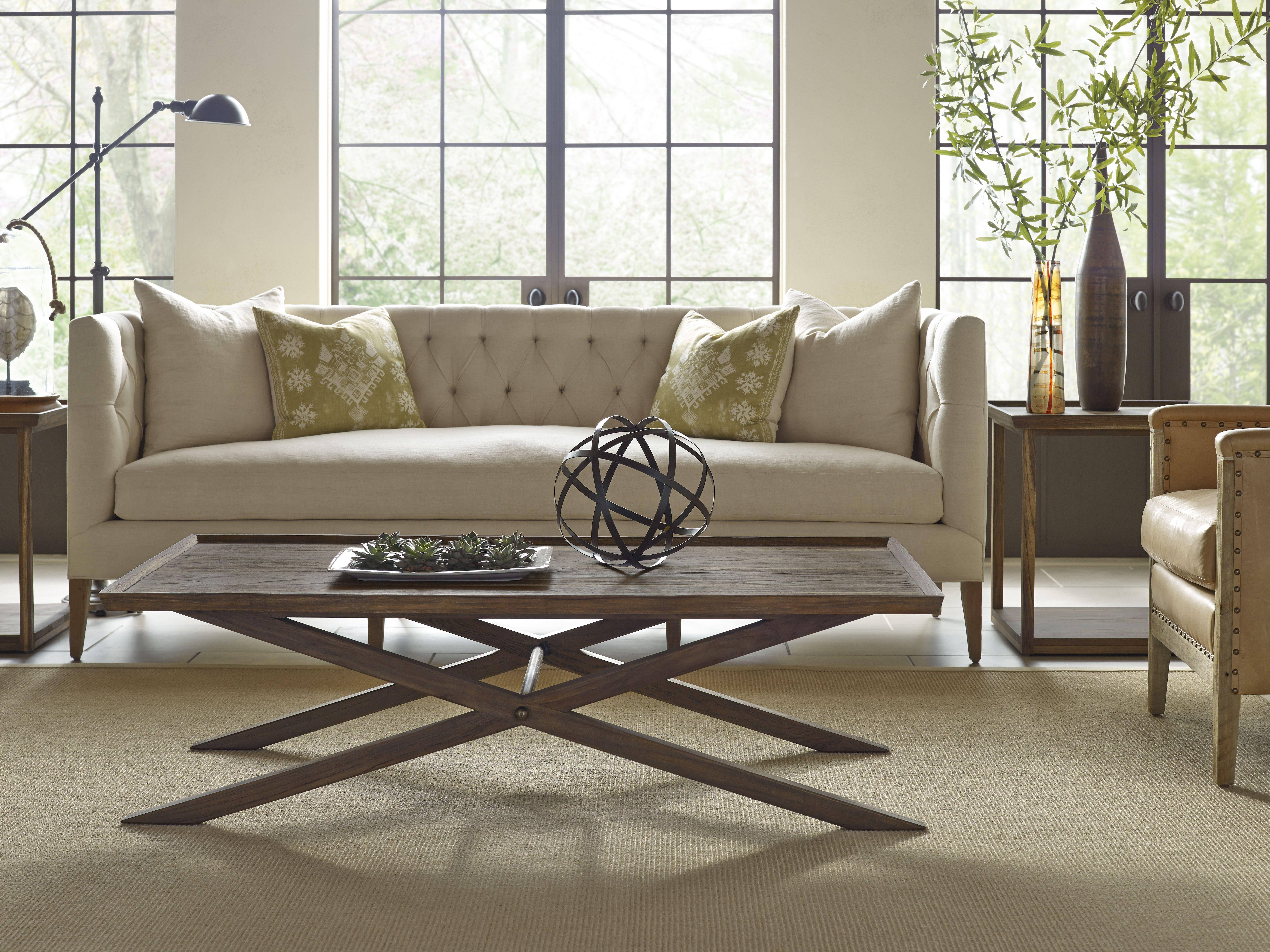 Crawford X Base Coffee Table Brownstone Furniture Coffee Table Furniture Lane Furniture [ 5071 x 6761 Pixel ]