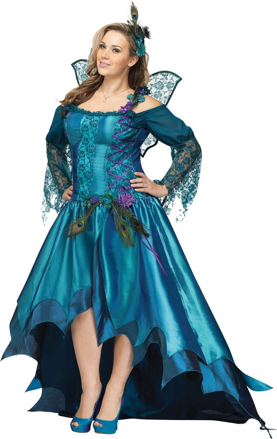 1b9e8b8f01d1e Plus Size Peacock Queen Costumes, Plus Size Sexy Fairy Costumes ...