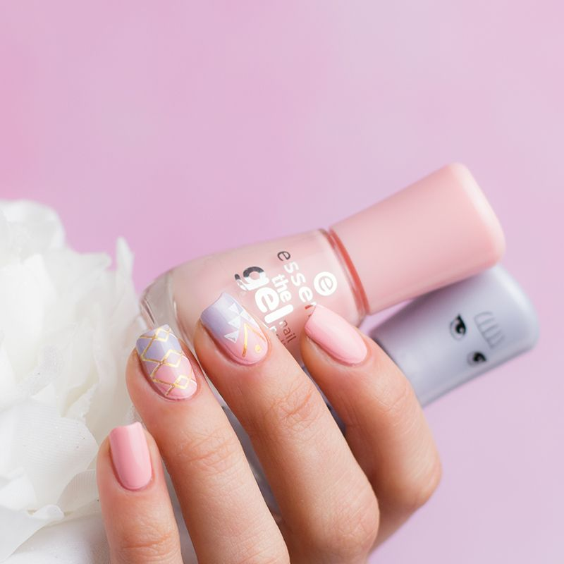 Essence Stamp It Clear Stampy Set Nails Pinterest Nails Nail