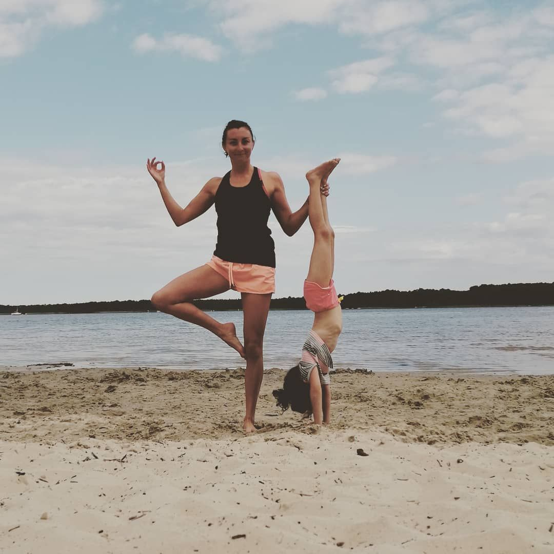 ❤️ MY DAUGHTER ❤️ Acro Yoga with my princess! She loves to do yoga and gym with me! She's so cute an...