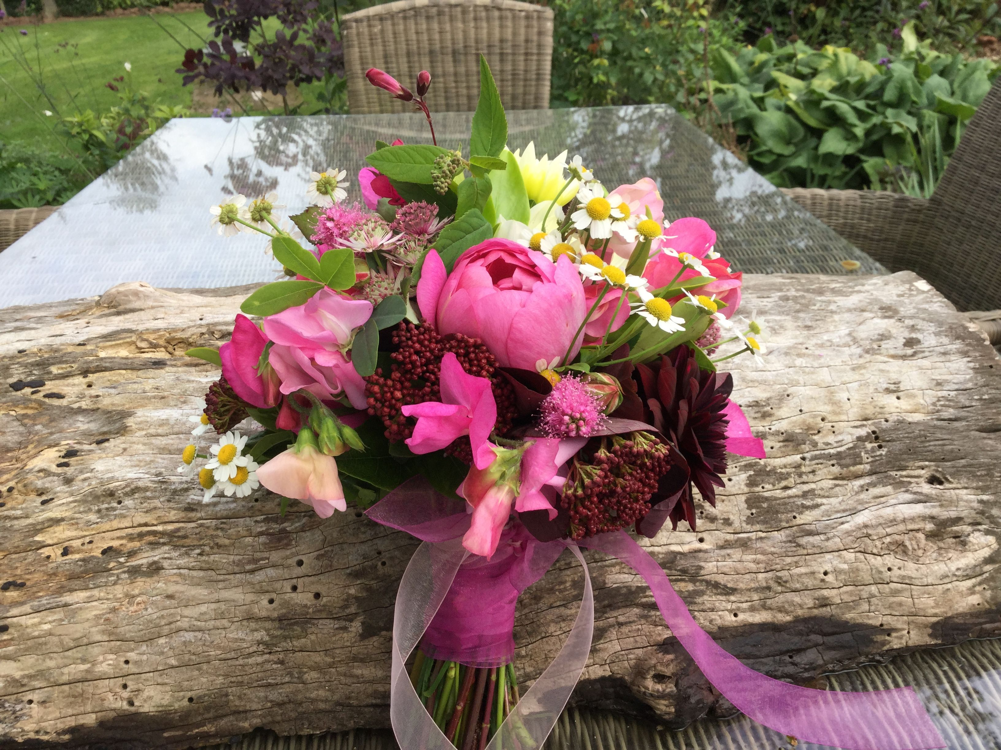 British flowers Homegrown Fresh from our cottage garden