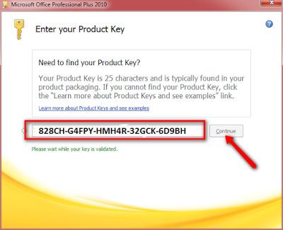 Where do i find my microsoft office 2010 product key | How
