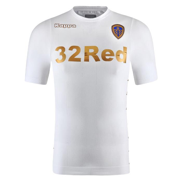 1f62555db5f Leeds United 17-18 Home Kit Released - Footy Headlines