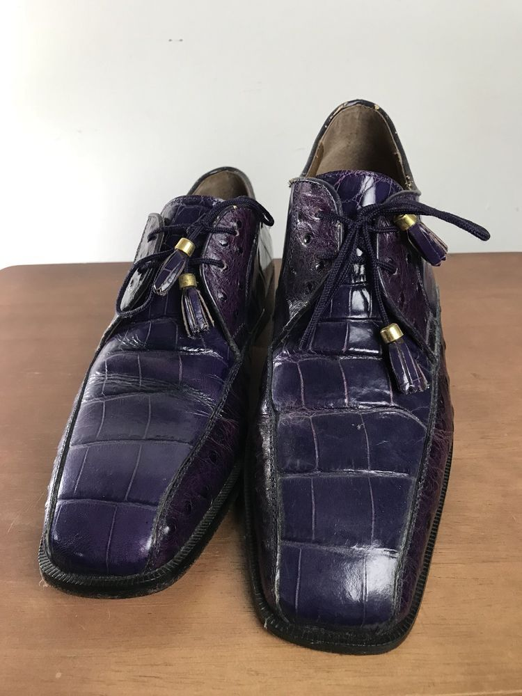 3f3618dc9f83 Marco Vicci Seth Embossed Alligator Tassel Oxford Dress Shoes .. Men s US 9  M  fashion  clothing  shoes  accessories  mensshoes  dressshoes (ebay link)