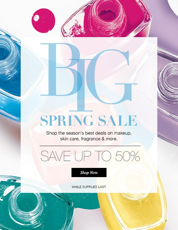Shop the Big Spring Sale today!