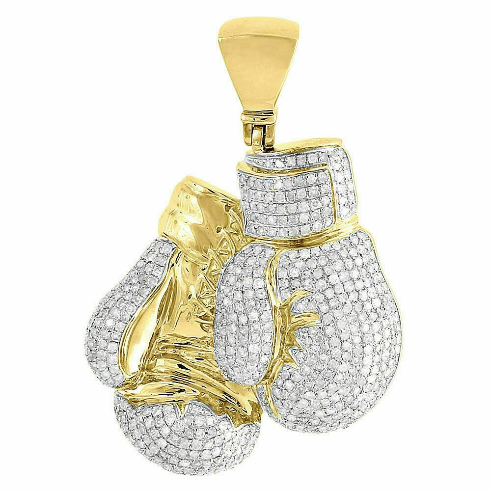 Charms for Bracelets and Necklaces 10k Yellow Gold Boxing Glove Charm
