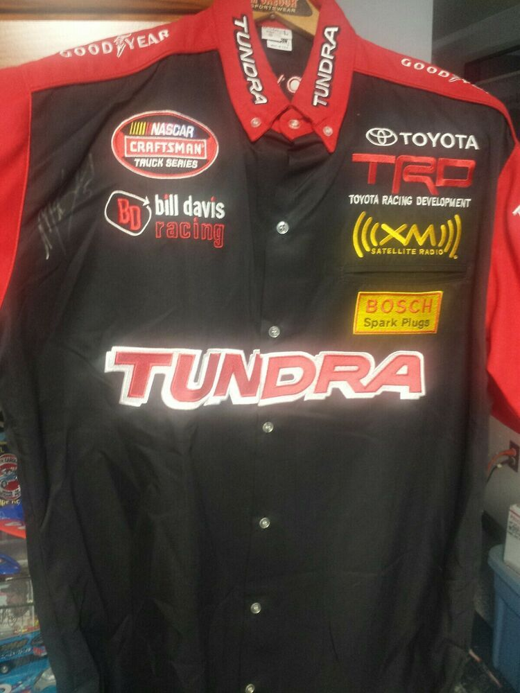 TOYOTA Racing shirt NEW Size MEDIUM craftsman Nascar