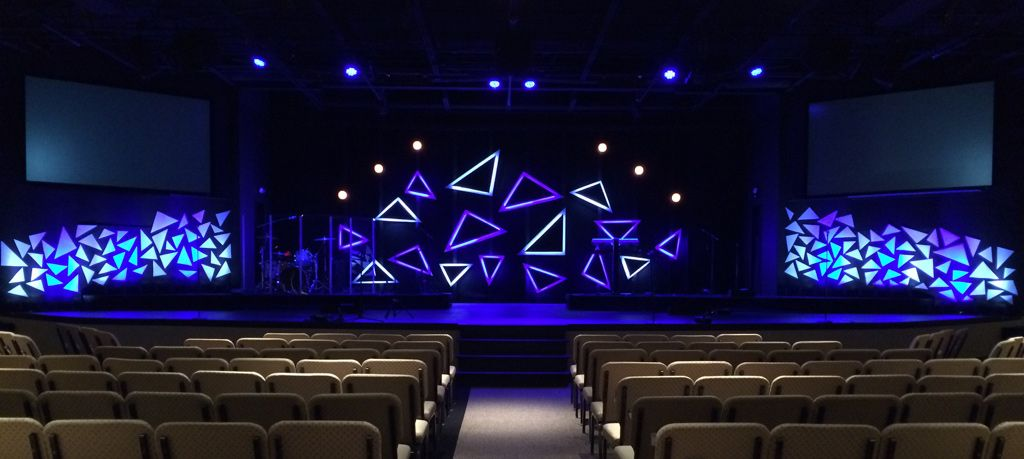 Retro Angles from Journey Church in Raleigh, NC | Church Stage ...