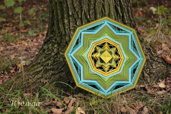 Mandala Ojos de Dios about grows and your own way By Isolda Mandalas (Tatiana Slinka)