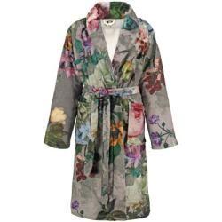 Photo of Essenza bathrobe ladies shawl collar fleur taupe – Xxl Essenza Home