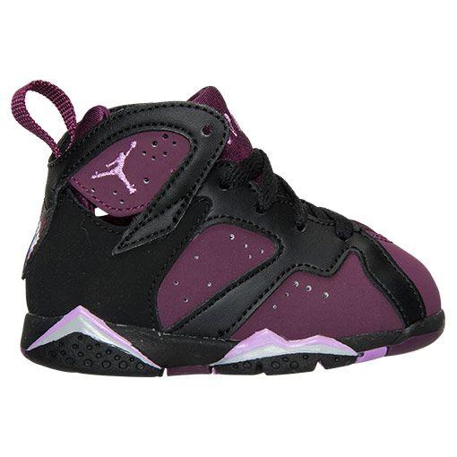 best value 08d44 214c2 Girls' Toddler Air Jordan Retro 7 Basketball Shoes | Kids ...