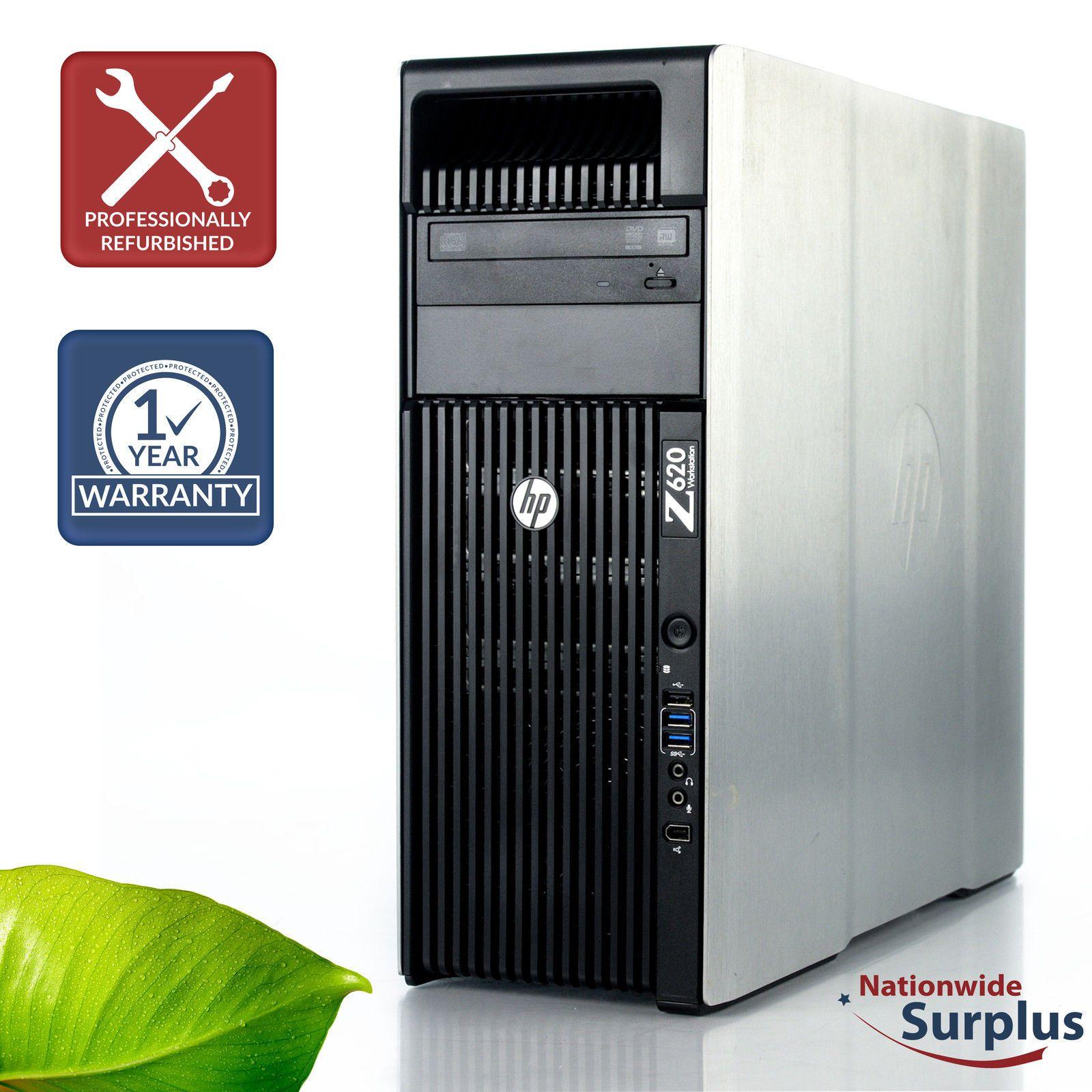 Custom Build HP Z620 Workstation 2x Xeon E5-2603 1 8GHz