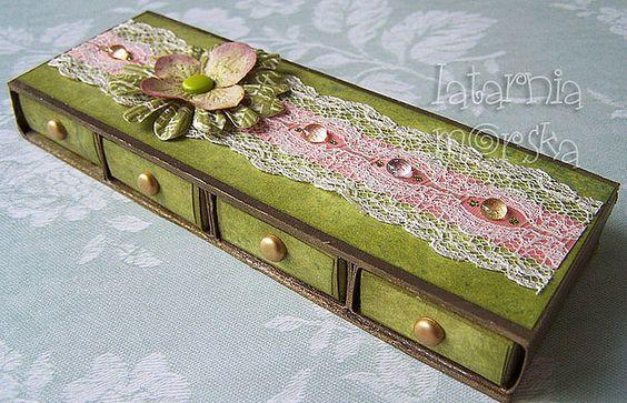 matchbox drawers: