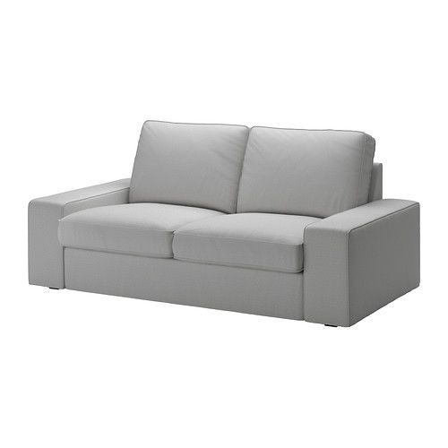 Kivik Loveseat Cover Orrsta Light Gray Sofa De 3 Plazas