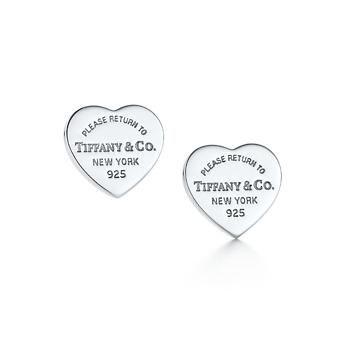 Tiffany & Co: Return to Tiffany's heart earrings