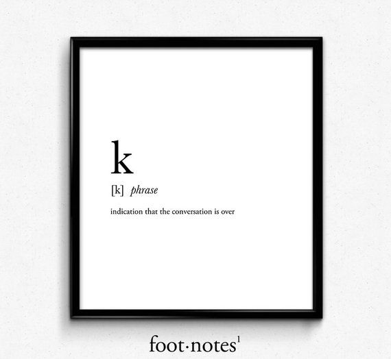 k definition, college dorm girl, dictionary art, minimalist poster, funny definition print, dorm dec