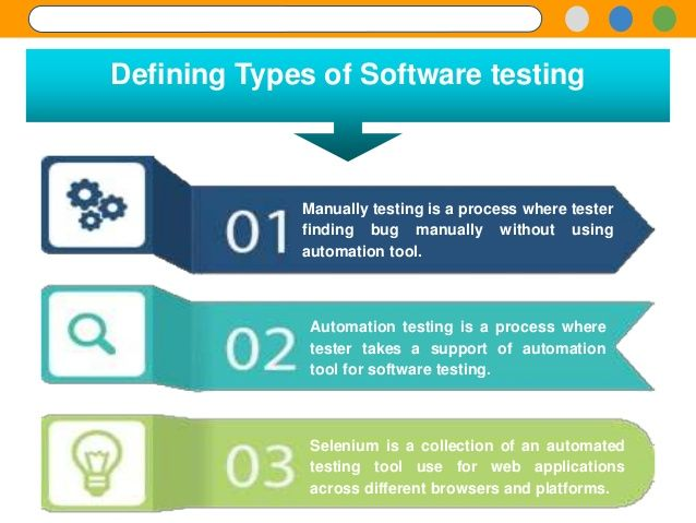 how to test a software application manually