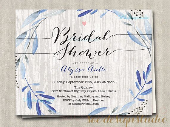 Wedding Bridal Shower Rehearsal Dinner Reception Party