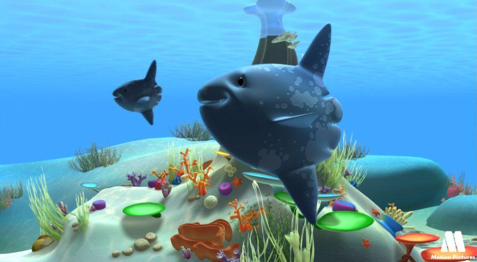 Pez luna dibujos de animales animales del mar  Dibujos