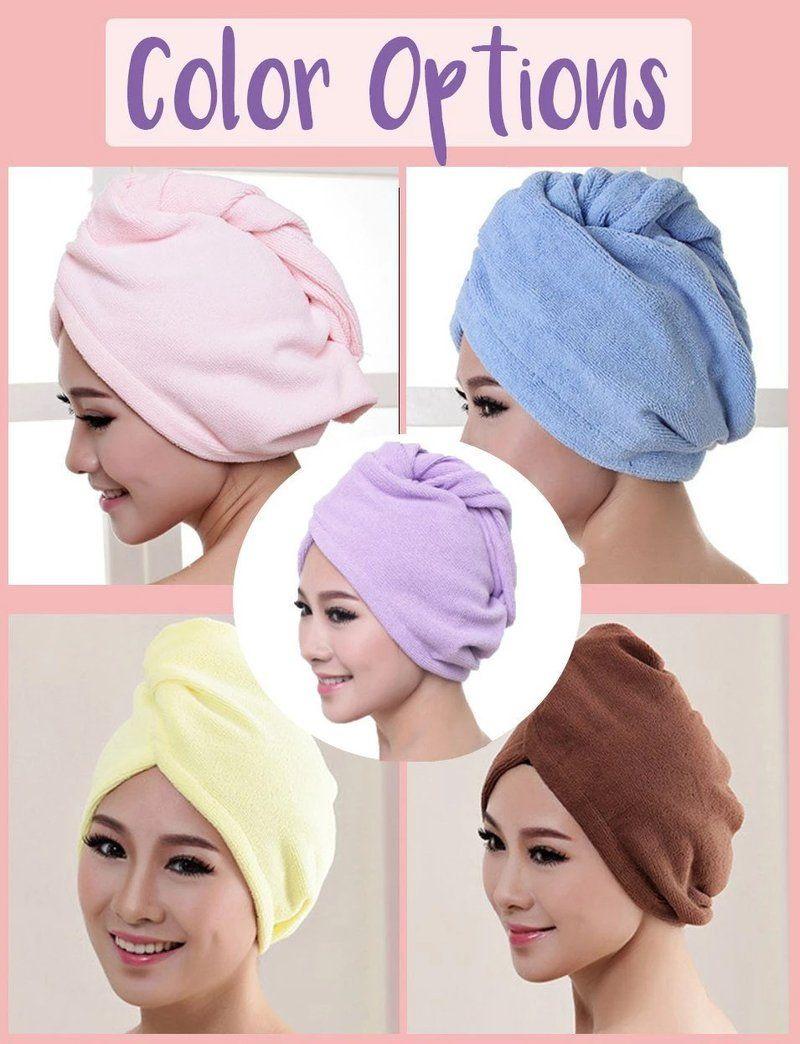 Magic Instant Dry Hair Towel Hair towel, Hair towel wrap