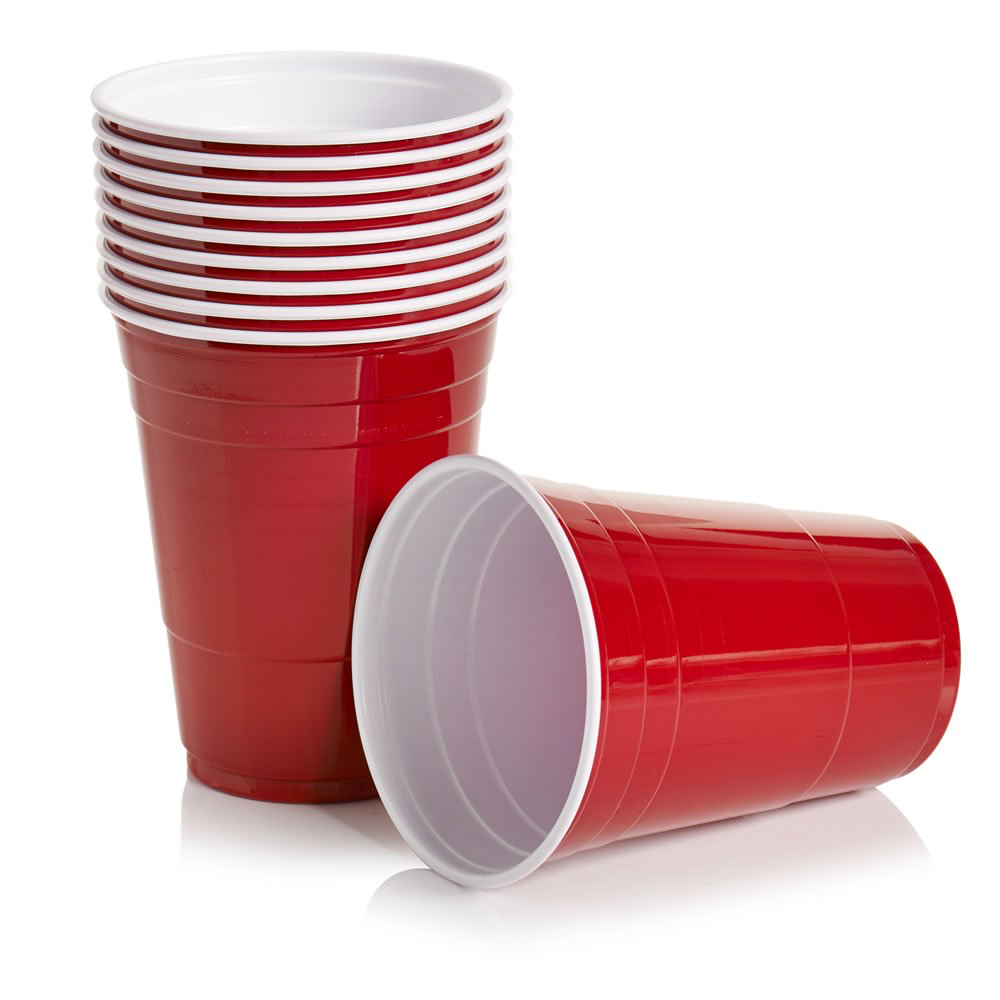 Wilko Plastic Party Cups Party Cups Plastic Cups