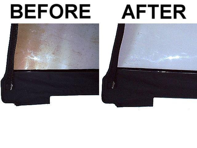 Convertible Top Rear Window Restorer Repair Polish For Bmw E30 E36 Z3 Z8 Bmw E30 Window Repair Rear Window