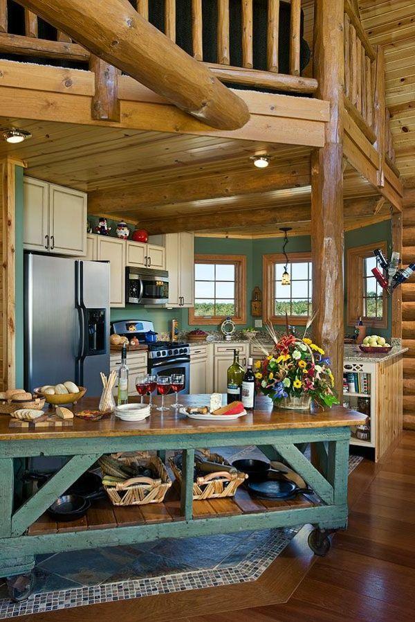 Portable Kücheninseln Rustikal Küche Idee