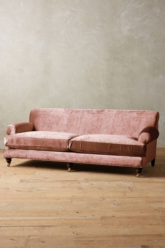 Currently Crushing Hard: Dusty Rose Pink Velvet Seating | Dusty rose ...