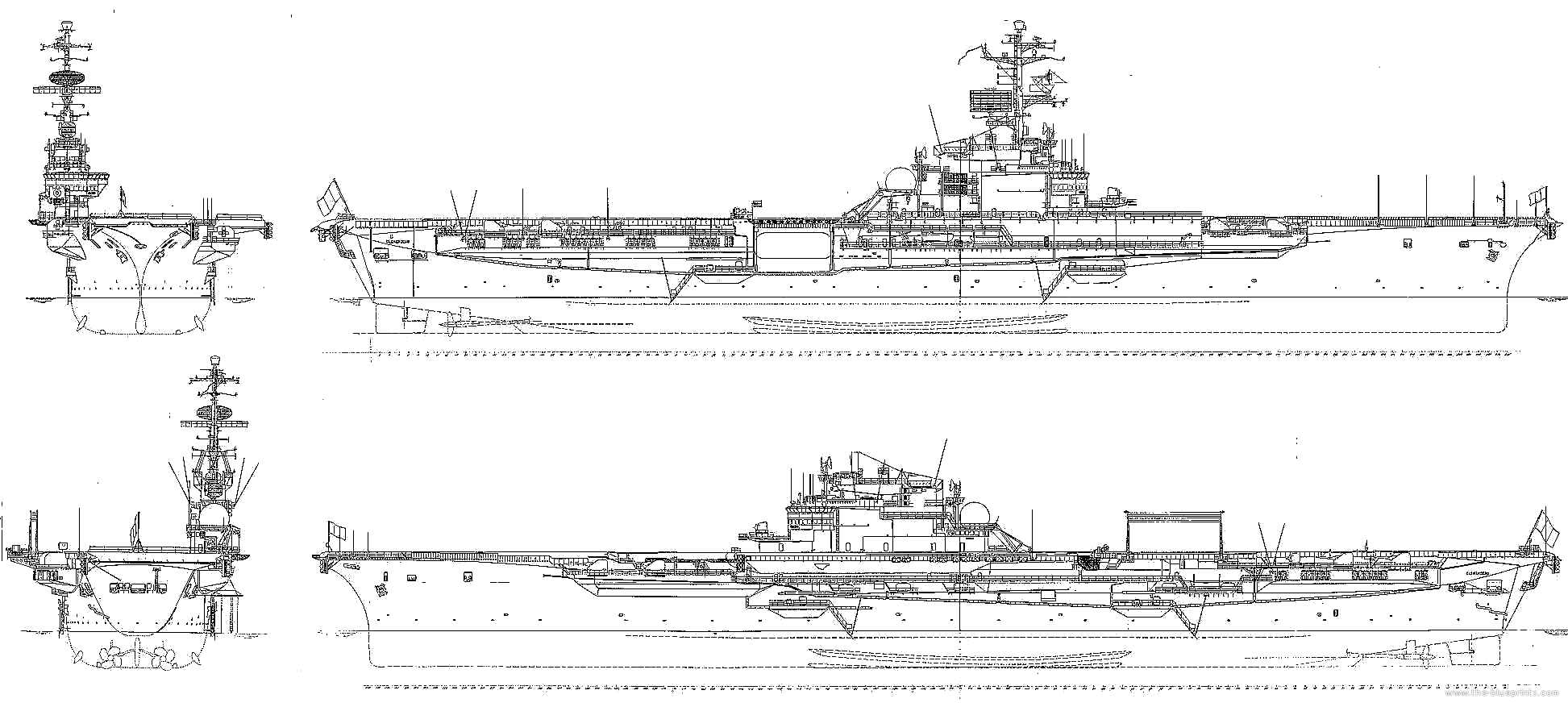 Nmf Clemenceau R98 1957 Aircraft Carrier Png 1 945 877 Pixels
